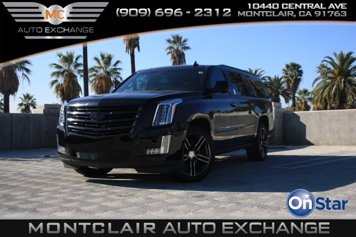 2016 Cadillac Escalade ESV PLATINUM PREF EQUIP, POWER SIDE BOARDS W LED LIGHT