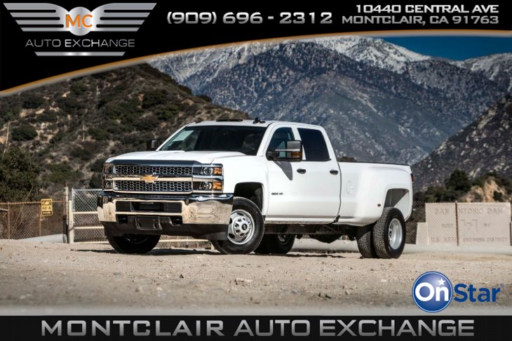 2019 Chevrolet Silverado 3500HD Work Truck (WT Convenience Package)