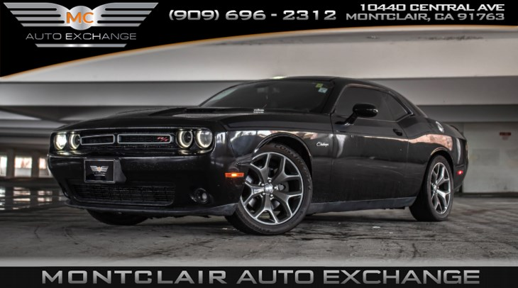 2015 Dodge Challenger (BACK UP CAMERA & BLUETOOTH) R/T Plus, HP70 TRANS, SUPER TRACK PAK, PREM SOUND