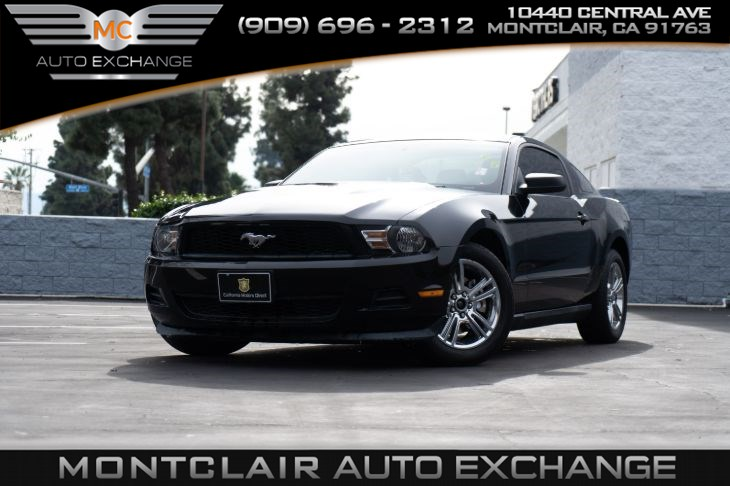 2012 Ford Mustang V6, 6SP AUTO, RAPID SPEC 101A
