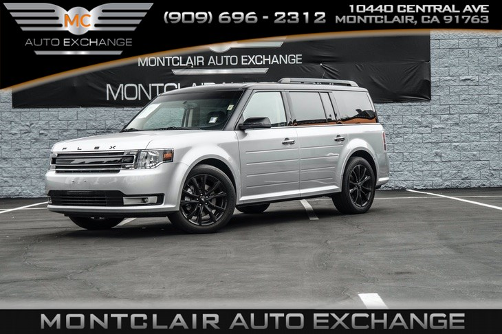 2016 Ford Flex SEL APPEARANCE PKG, NAV, ROOF RACK SIDE RAILS