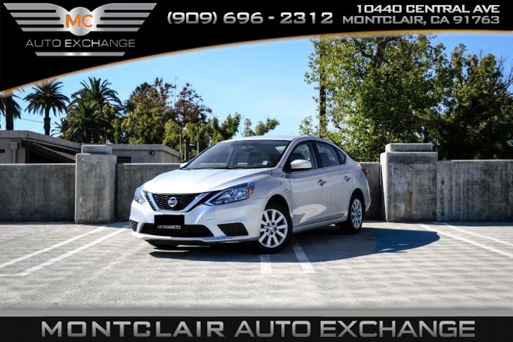 2016 Nissan Sentra SV (Handsfree Bluetooth, Backup Camera)