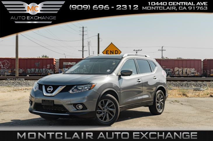 2016 Nissan Rogue SL (Backup Camera, Handsfree Bluetooth)