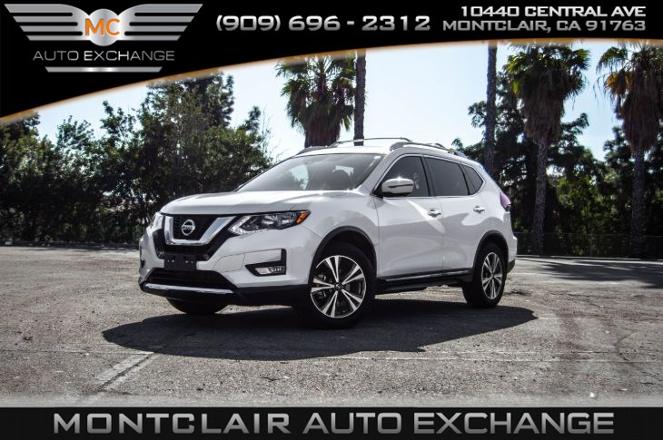 2017 Nissan Rogue SL (ROOF RAIL CROSS BARS, NAVI)