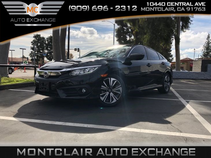 2016 Honda Civic Sedan EX-T SUN/MOONROOF, BLUETOOTH, BACKUP CAM
