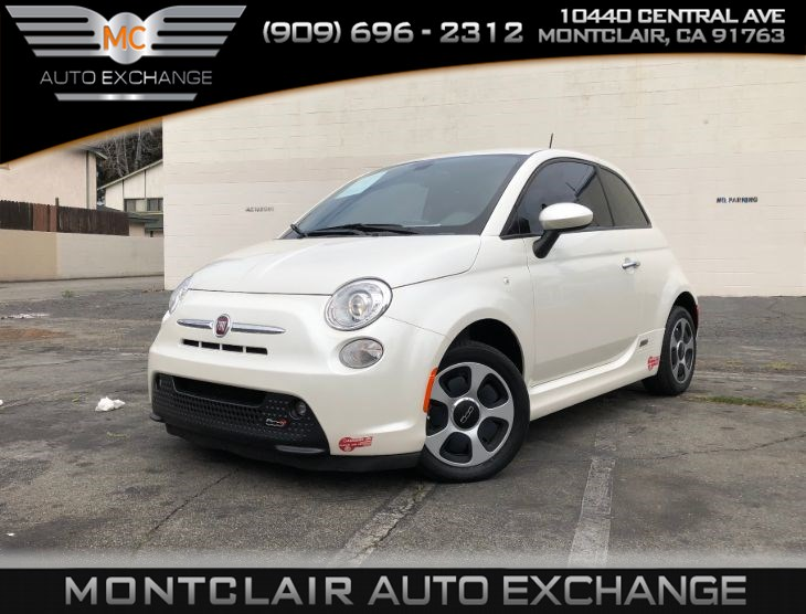 2017 FIAT 500e (HANDSFREE BLUETOOTH, NAVIGATION)