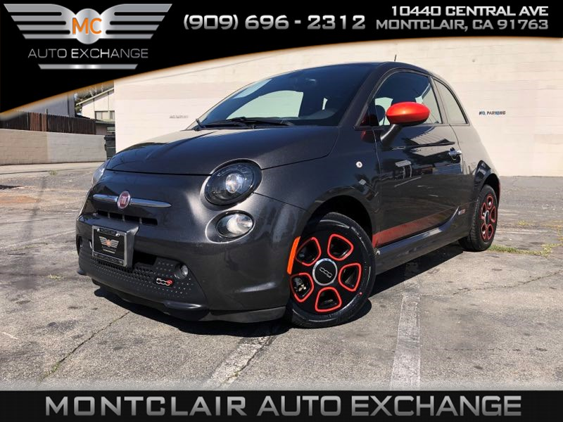 2017 FIAT 500e eSPORT PKG, NAVIGATION, BLUETOOTH