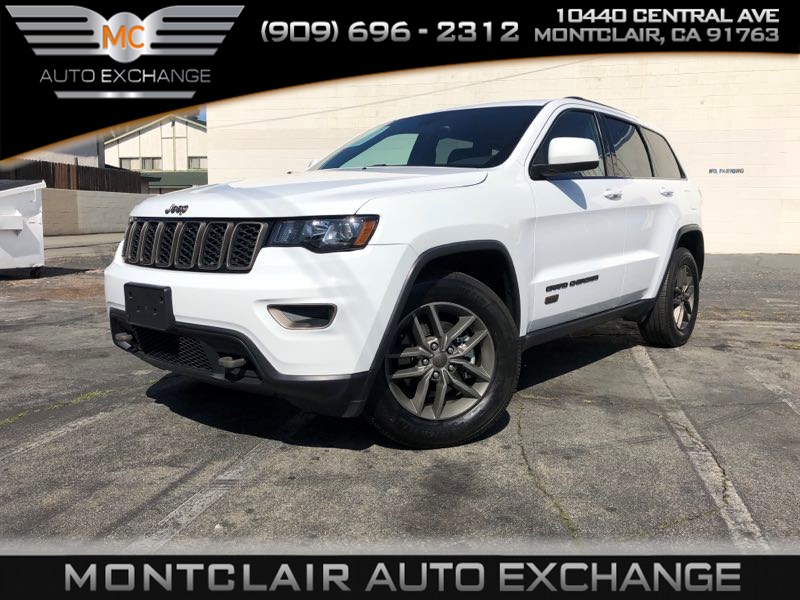 2017 Jeep Grand Cherokee 75th Anniversary Edition, BACAKUP CAM, BLUETOOTH