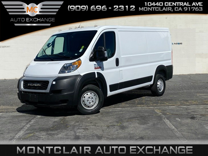 "2019 Ram ProMaster Cargo Van 5"" TOUCHSCREEN DISPLAY, BACKUP CAM"