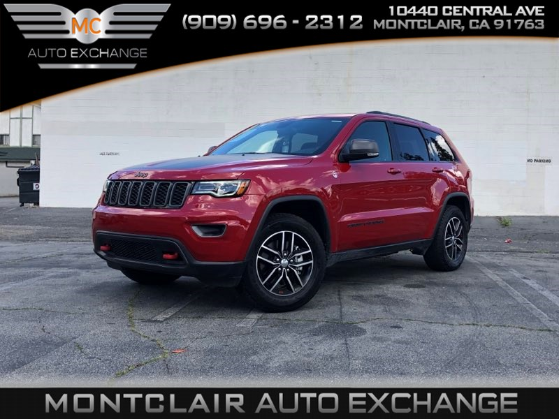 2017 Jeep Grand Cherokee Trailhawk V8, LUXURY GROUP, BACKUP CAM, BLUETOOTH