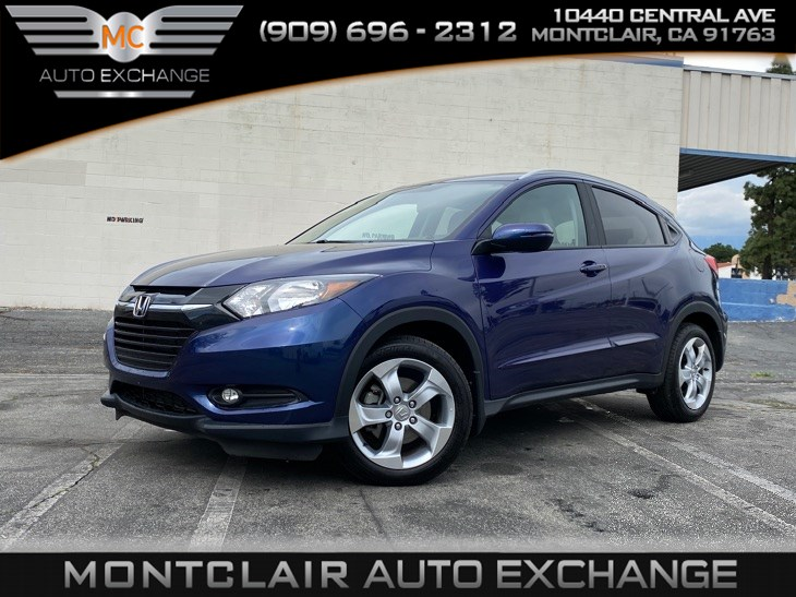 2016 Honda HR-V EX-L w/Navi (BLUETOOTH, BACK UP CAMERA)