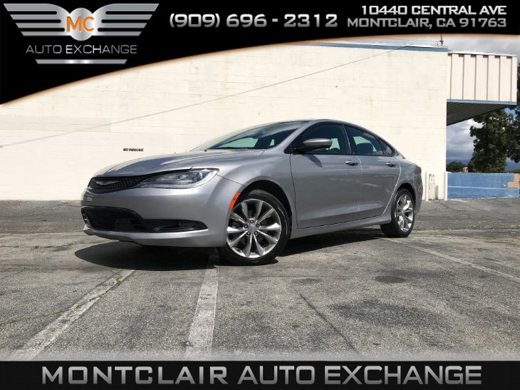 2015 Chrysler 200 S UCONNECT, BLUETOOTH CONNECTIVITY