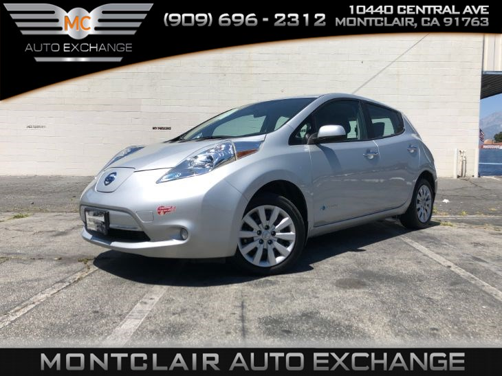 2016 Nissan LEAF S (Handsfree Bluetooth, Backup Cam, Electric)
