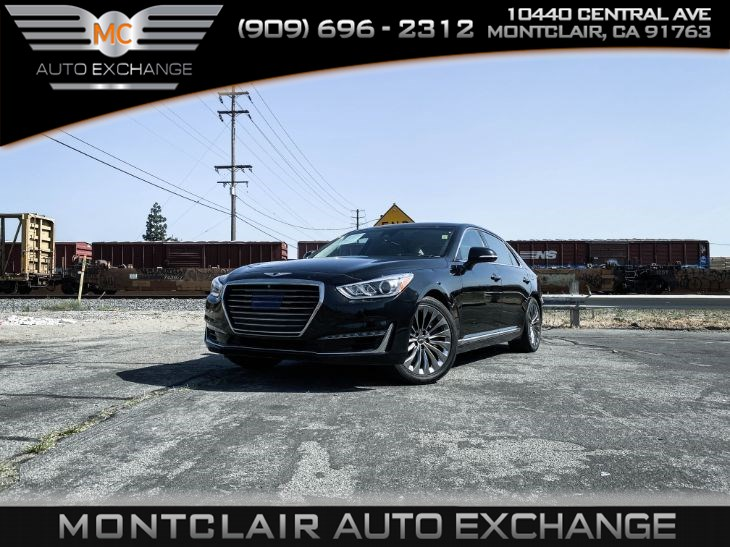 2017 Genesis G90 5.0L Ultimate (Backup Camera, Heated Seats)