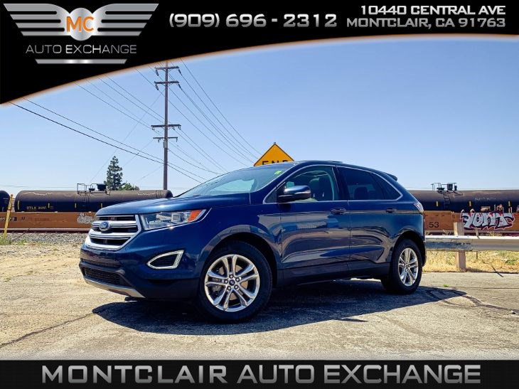2017 Ford Edge SEL (Privacy Glass, Bluetooth, Backup Camera)