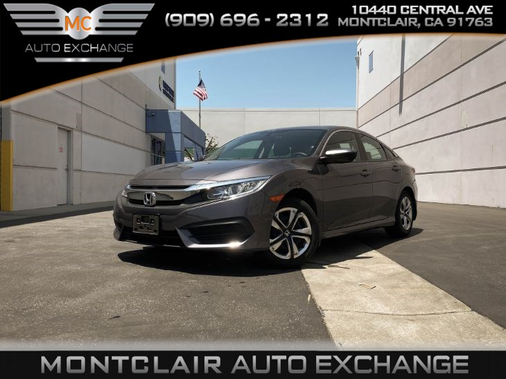 2017 Honda Civic Sedan LX  (Bluetooth, Backup Camera, Gas Saver)