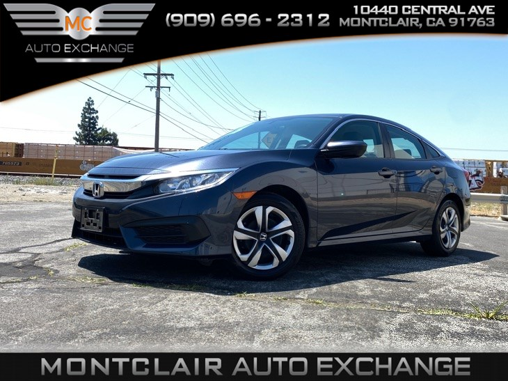 2017 Honda Civic Sedan LX (GAS SAVER, COLD AC, BACK UP CAM, BLUETOOTH)