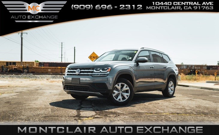 2019 Volkswagen Atlas 3.6L V6 S ( Bluetooth, Backup Camera,Bucket Seats)