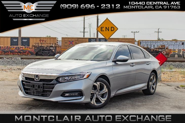 2018 Honda Accord Sedan EX-L 1.5T (AC, BLUETOOTH, BACK UP CAM, GAS SAVER)