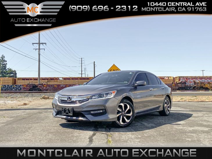 2017 Honda Accord Sedan EX (Backup Camera, Bluetooth, Sunroof)