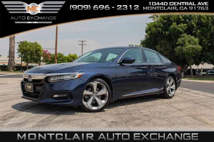 2018 Honda Accord Sedan Touring 1.5T (Backup Camera, Bluetooth)