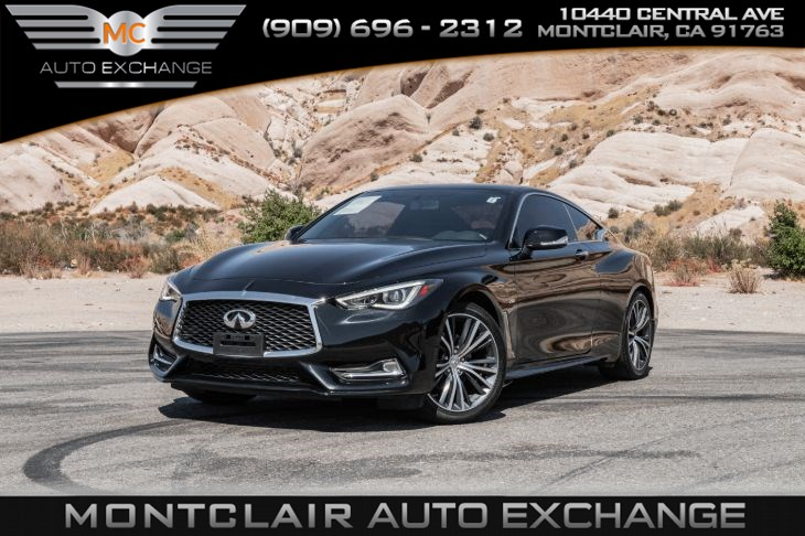2017 INFINITI Q60 2.0t (KEYLESS ENTRY, BACKUP CAM, BLUETOOTH)
