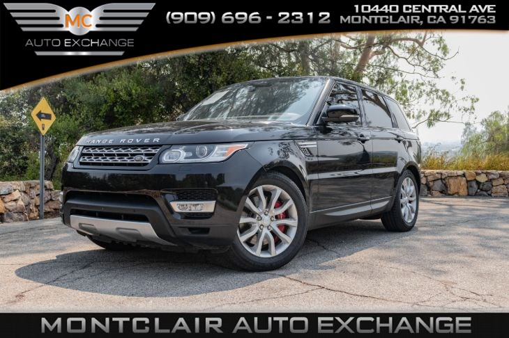 2016 Land Rover Range Rover Sport V8(KEYLESS ENTRY, BLUETOOTH, MOONROOF)