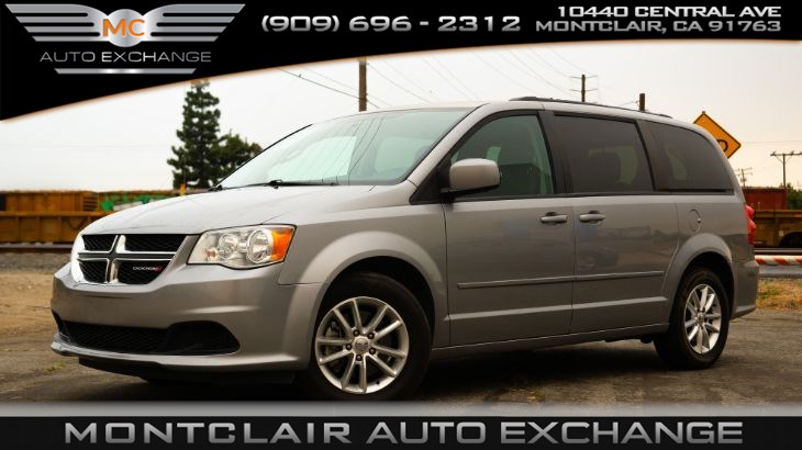 2016 Dodge Grand Caravan SXT (Keyless Entry, AC, Bucket Seats)