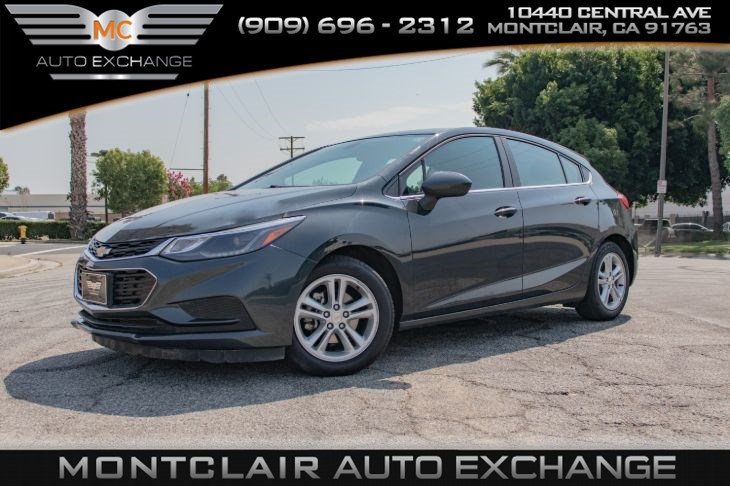 2017 Chevrolet Cruze LT (Backup Camera, Bluetooth, Bucket Seats)