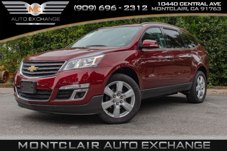2017 Chevrolet Traverse LT (BACK UP CAM, 3RD ROW SEAT, NAV, BLUETOOTH)