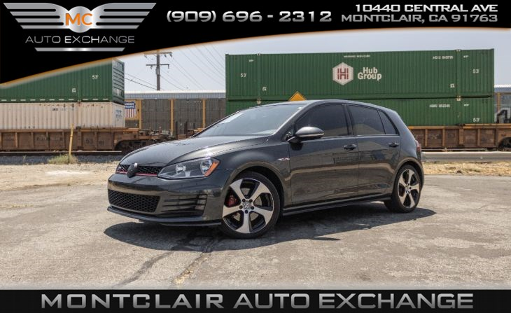 2015 Volkswagen Golf GTI S (Bluetooth, 6-Speed Manual, Bucket Seats)