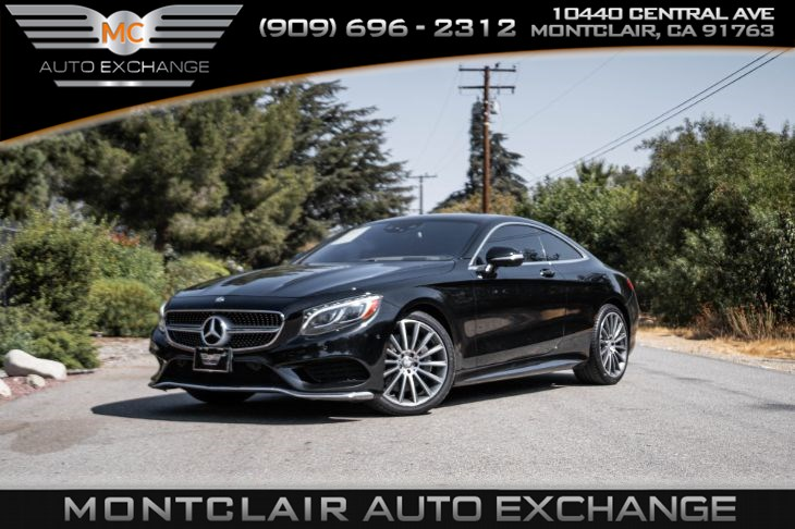 2016 Mercedes-Benz S 550 4MATIC Coupe(BACKUP CAM,BLUETOOTH,PREMIUM SOUND)