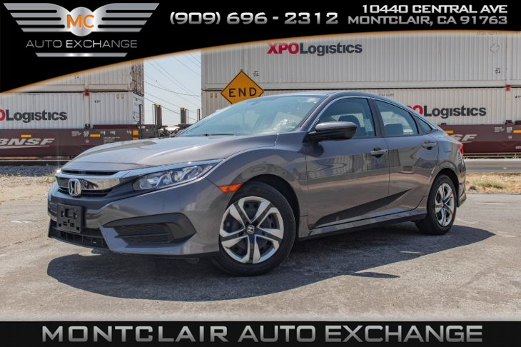 2018 Honda Civic Sedan LX( BACKUP CAMERA, BLUETOOTH, BUCKET SEATS)