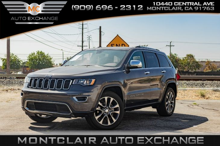 2018 Jeep Grand Cherokee Limited(BACKUP CAMERA, BLUETOOTH, BUCKET SEATS)