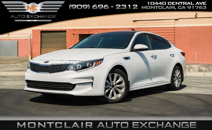 2017 Kia Optima EX (BLUETOOTH,AC,BACK-UP CAMERA)