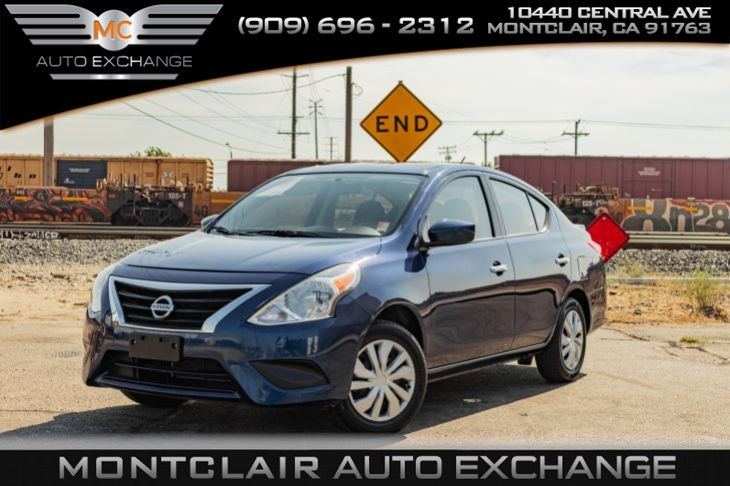 2018 Nissan Versa Sedan SV(BLUETOOTH, BUCKET SEATS, GAS SAVER)