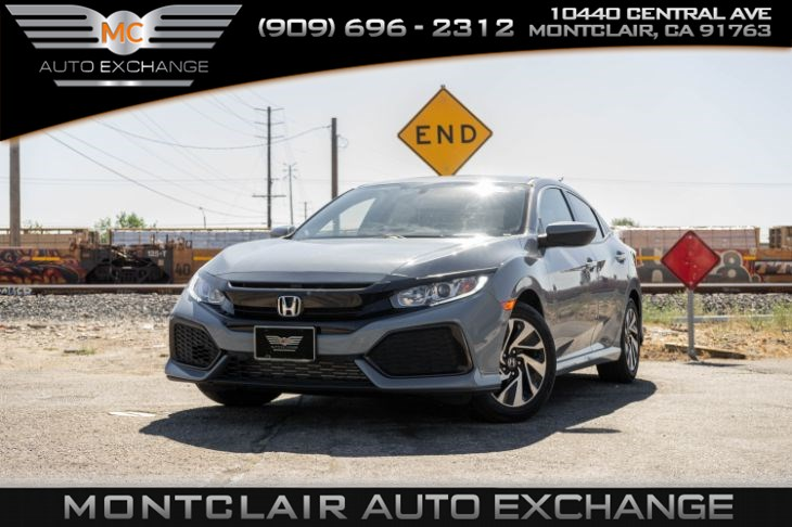 2017 Honda Civic Hatchback LX (BACKUP CAMERA, BLUETOOTH, BUCKET SEATS)