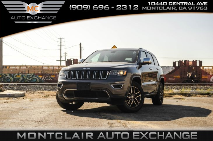 2017 Jeep Grand Cherokee Limited(BLUETOOTH & BACK-UP CAMERA)