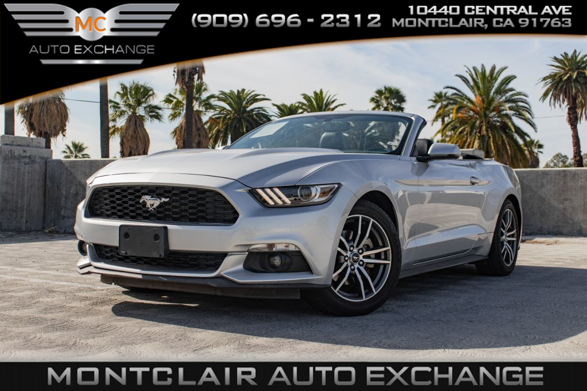 2016 Ford Mustang EcoBoost Premium( BACKUP CAMERA, BLUETOOTH)