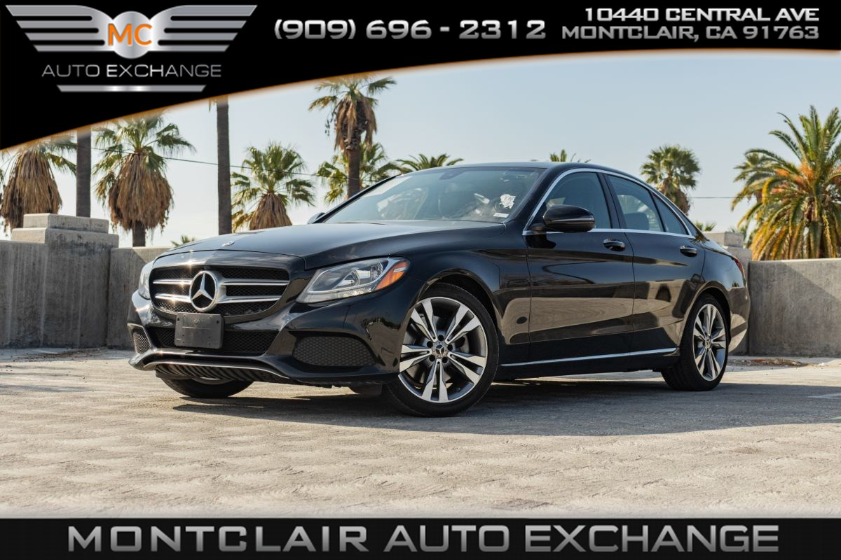 2018 Mercedes-Benz C 300 Sedan(BACKUP CAMERA, BLUETOOTH, KEYLESS START)