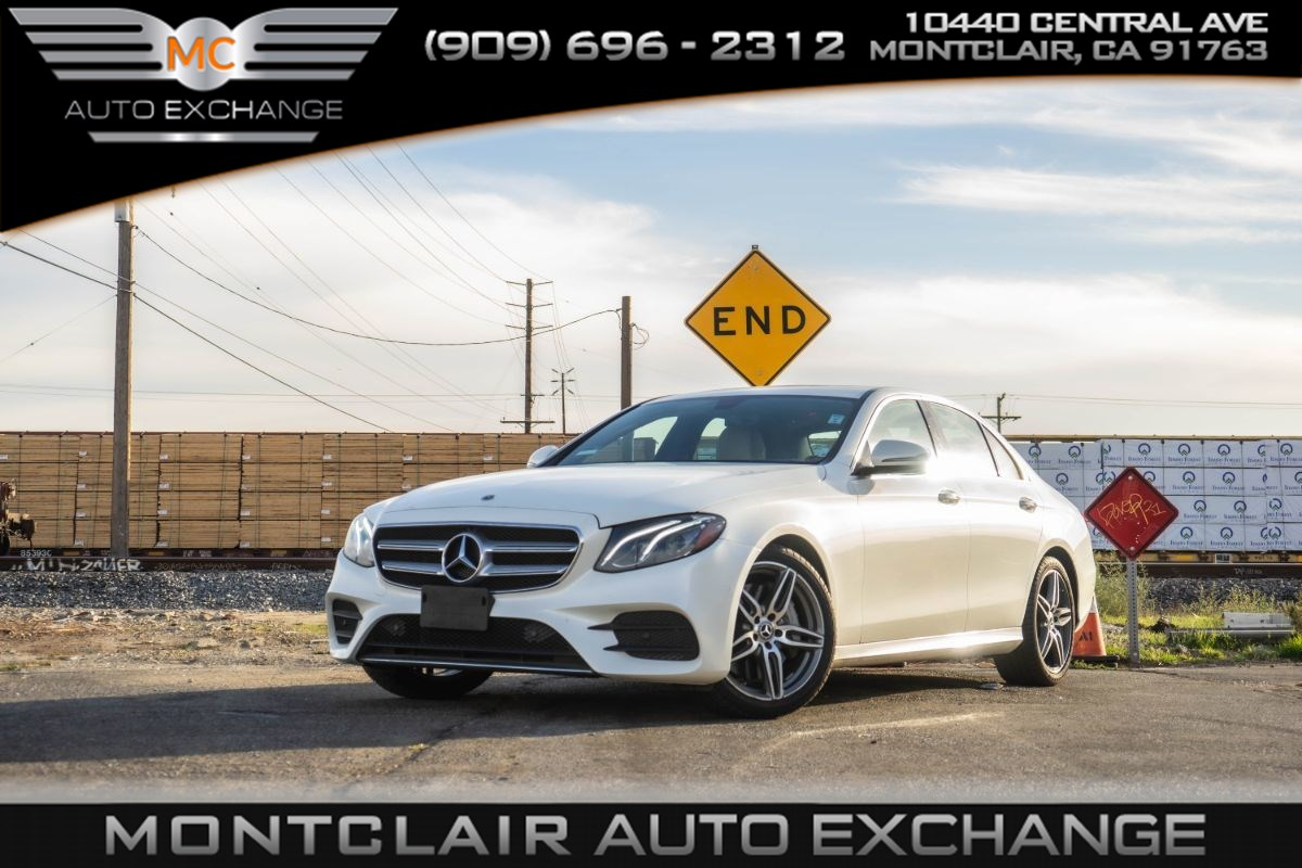 2018 Mercedes-Benz E 300 RWD Sedan (Premium Pkg 1, Bluetooth, Bucket Seats)