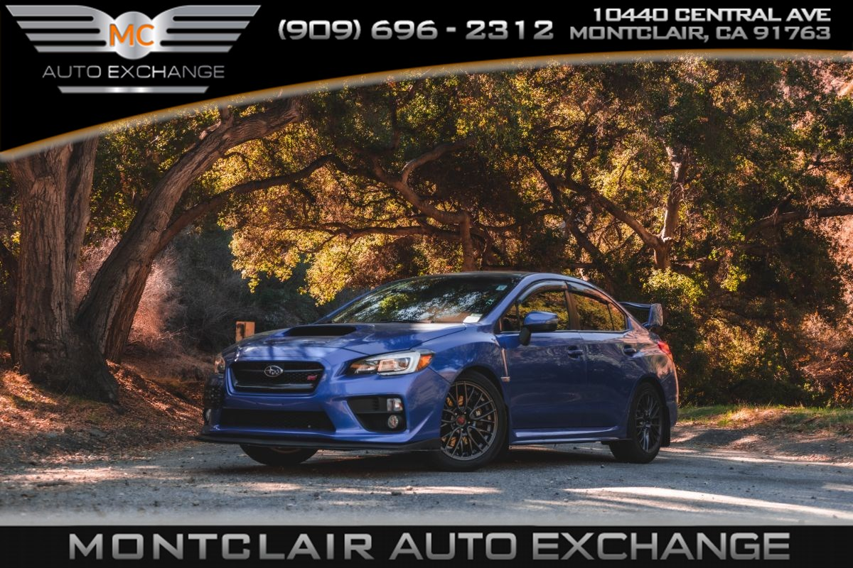 2015 Subaru WRX STI (Backup Camera, Bluetooth, Bucket Seats, Brembos )