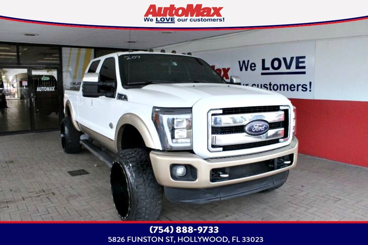 2012 Ford Super Duty F-350 SRW Lariat
