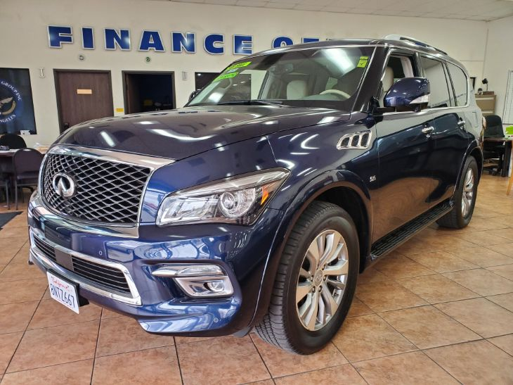 2016 INFINITI QX80 Limited W/Leather