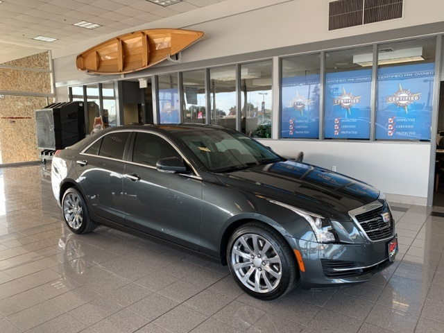 2018 Cadillac ATS 2.0L Turbo Luxury AWD