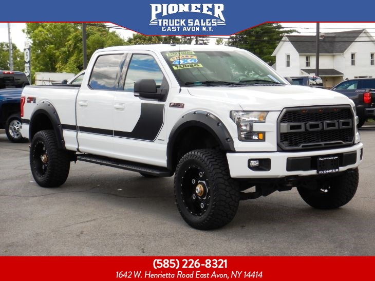2016 Ford F-150 XLT 302A SPORT DF6 PACKAGE LIFTED