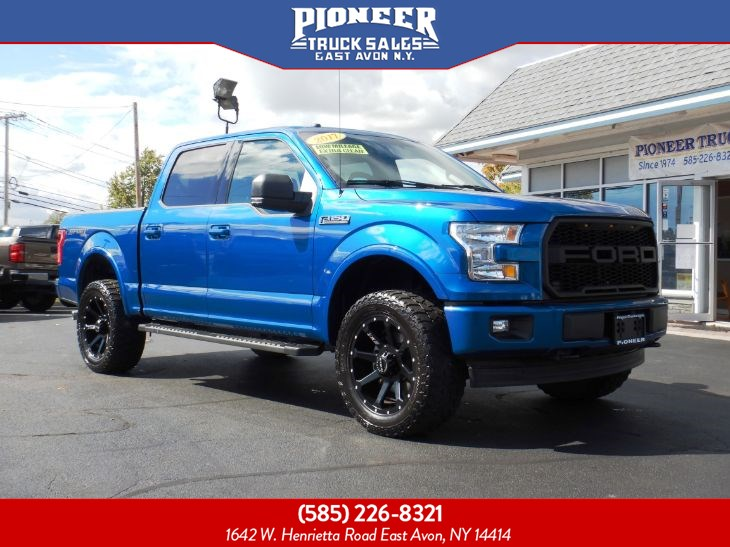 2017 Ford F-150 XLT 302A SPORT LIFTED