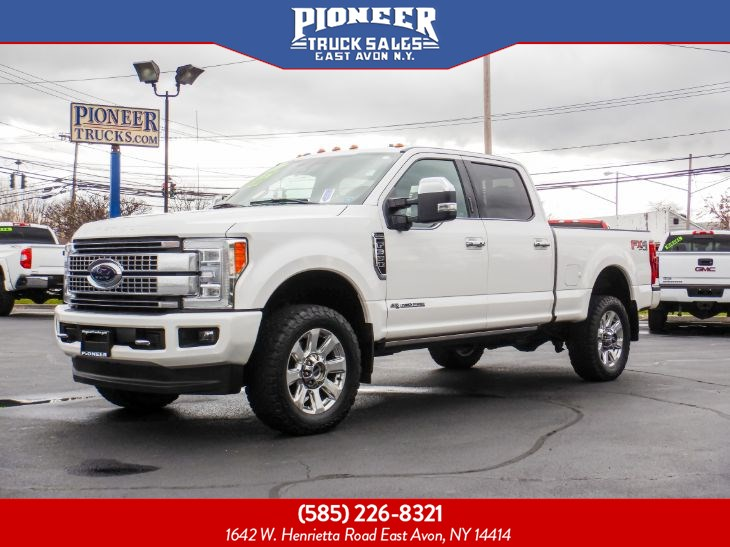 2017 Ford Super Duty F-350 SRW PLATINUM ULTIMATE POWERSTROKE DIESEL