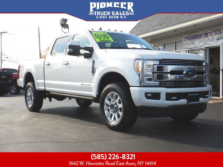 2019 Ford Super Duty F-350 SRW LIMITED POWERSTROKE DIESEL FX4
