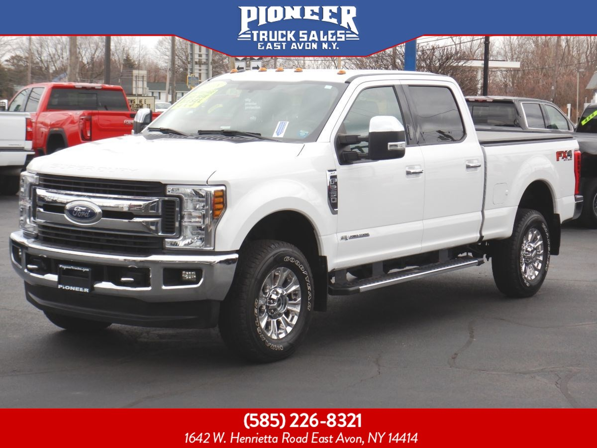 2018 Ford Super Duty F-250 SRW XLT POWERSTROKE DIESEL FX4